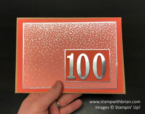 Step 4 - Explosion Fold Card with Envelope Punch Board, Stampin' Up!, Brian King