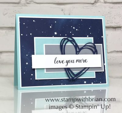 Another Wonderful Year, Stampin' Up!, Brian King