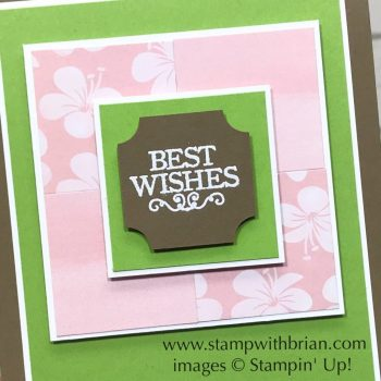 Darling Label Punch Box, Stampin' Up!, Brian King