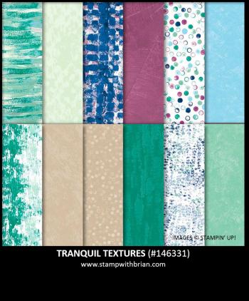 Tranquil Textures Designer Series Paper, Stampin' Up!, 146331