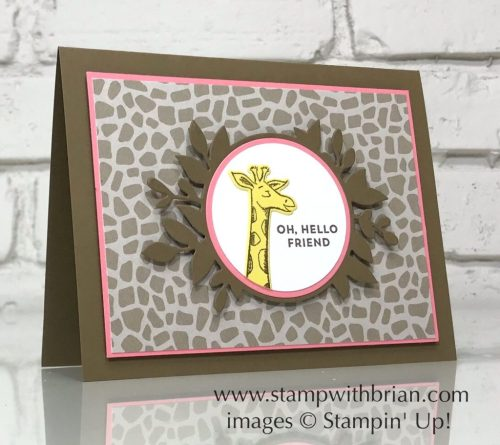 Animal Outing Bundle, Stampin' Up!, Brian King, GDP153