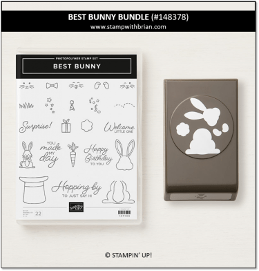 Best Bunny Bundle, Stampin' Up! 148378