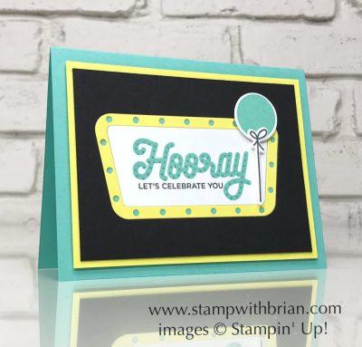 Broadway Birthday Bundle, Stampin' Up!, Brian King, birthday card