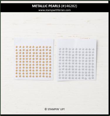 Metallic Pearls, Stampin' Up! 146282