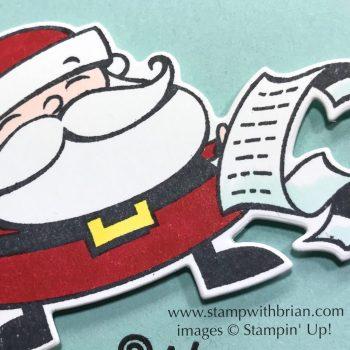 Signs of Santa, Stampin' Up!, Brian King, CTS284