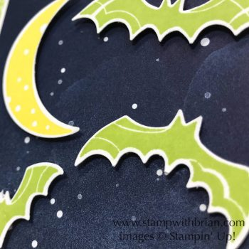 Spooky Sweets, Trick or Tweet, Stampin' Up!, Brian King, Halloween card