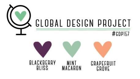 Stampin' Up! Color Inspiration: Blackberry Bliss, Mint Macaron, Grapefruit Grove