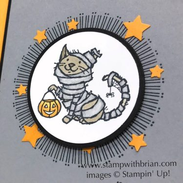 Trick or Tweet, Spooky Sweets, Stampin' Up!, Brian King