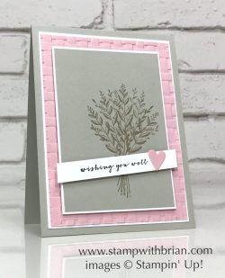 Wishing You Well, Stampin' Up!, Brian King