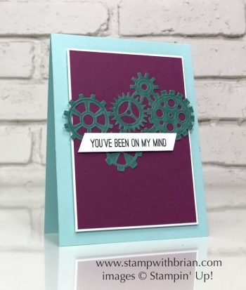 Butterfly Gala, Garage Gears Thinlits Dies, Stampin' Up!, Brian King