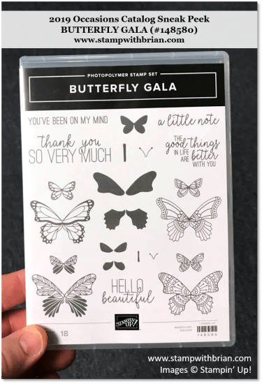 Butterfly Gala, Stampin' Up!, 148580