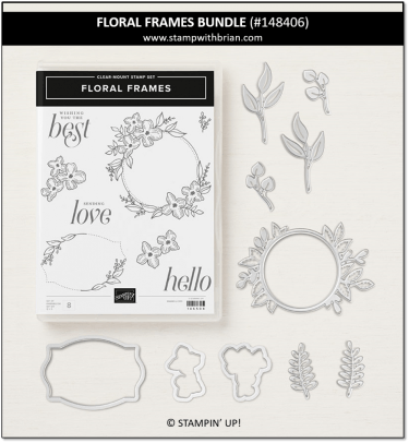 Floral Frames Bundle, Stampin' Up! 148406