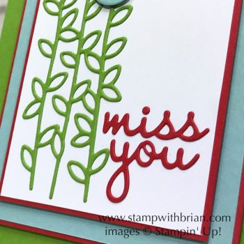 Well Said Bundle, Stampin' Up!, Brian King
