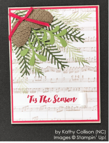 by Kathy Collison, Stampin' Up! One-by-One Holiday Card Swap