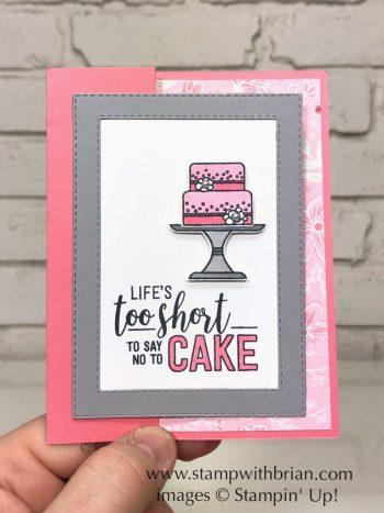 Amazing Life Bundle, Piece of Cake Bundle, Stampin' Up!, Brian King