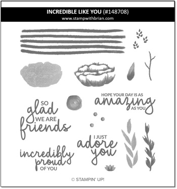 Incredible Like You, Stampin' Up!, 148708