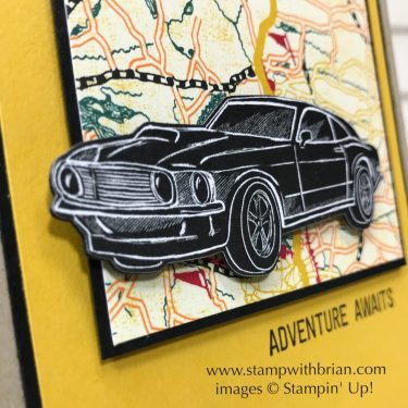 Classic Garage Designer Series Paper, Garage Gears Thinlits, En Route, Stampin' Up!, Brian King