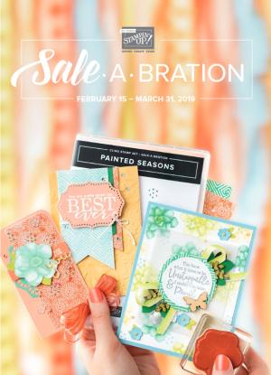 Sale-a-Bration Second Release 2019