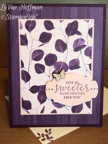 by LaVae Hoffman, Stampin' Up!