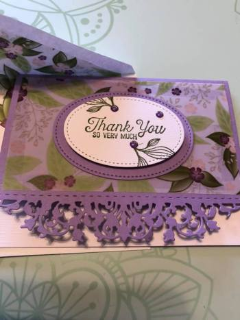 by Sheryl Abernathy, Stampin' Up!