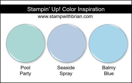 2019-2021 In Color Comparison, Seaside Spray