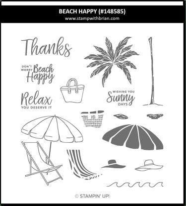 Beach Happy, Stampin' Up!, 148585