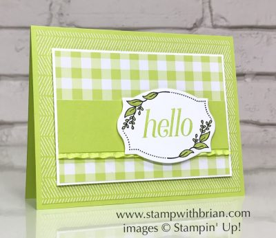Floral Frames Bundle, Lemon Lime Twist, Stampin' Up!, Brian King