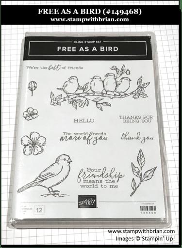 Free as a Bird, Stampin' Up! 149468