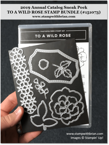 To a Wild Rose Bundle, Stampin' Up! 151073