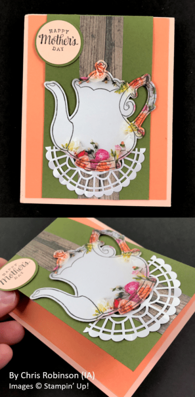 Spring One-for-One Card Swap, Stampin' Up!, by Chris Robinson
