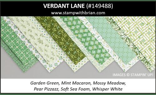 Verdant Lane Designer Series Paper, Stampin' Up! 149488