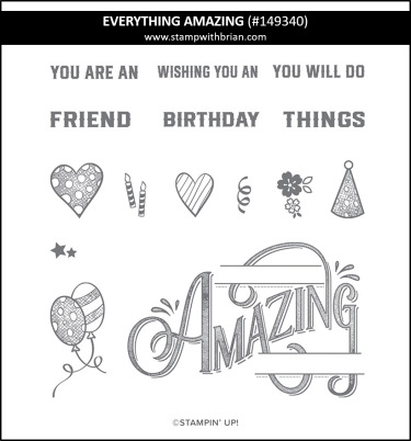 Everything Amazing, Stampin' Up! 149340