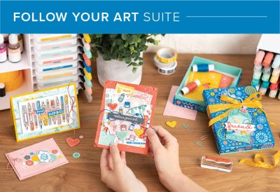 Follow Your Art Suite, 101005, Stampin' Up! 2019 Annual Catalog