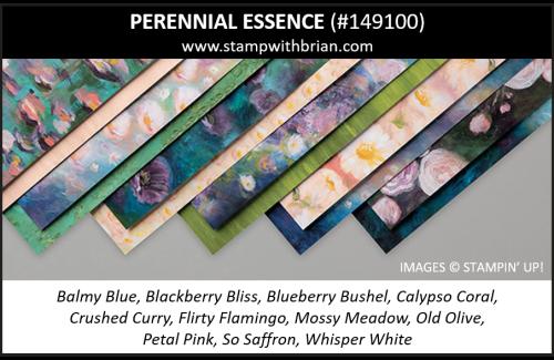 Perennial Essence Designer Series Paper, Stampin' Up! 2019 Annual Catalog, 149100