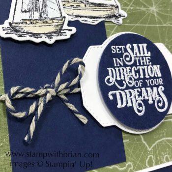 Sailing Home Bundle, Come Sail Away Designer Series Paper, Stampin' Up!, Brian King