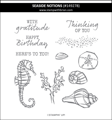 Seaside Notions, Stampin' Up! 149278