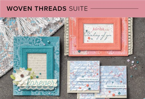 Woven Threads Suite, 101001, Stampin' Up! 2019 Annual Catalog