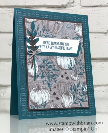 A Wish for Everything, Come to Gather Designer Series Paper, Stampin' Up!, Brian King