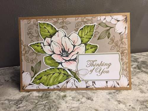 by Bonnie Bake, Good Morning Magnolia, Stampin' Up!, CASE the 2019 Annual Catalog