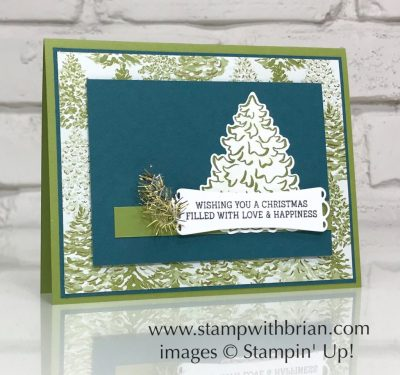 Most Wonderful Time Product Medley, Cup of Christmas, Stampin' Up!, Brian King