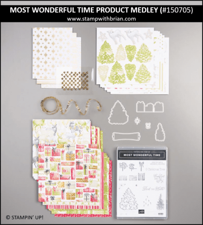 Most Wonderful Time of the Year Product Medley, Stampin' Up! 150705