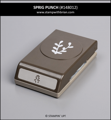 Sprig Punch, Stampin' Up! 148012