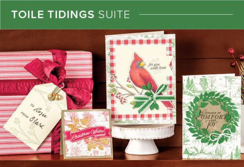Toile Tidings Suite, Stampin' Up!, 101013