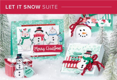 Let It Snow Suite, Stampin' Up! 101015