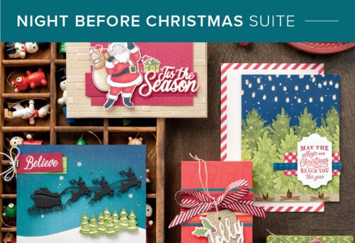 Night Before Christmas Suite, Stampin' Up! 101016