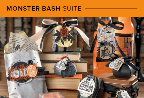 Monster Bash Suite, Stampin' Up! 101020