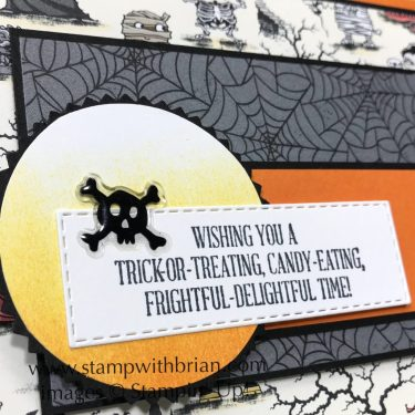 A Wish for Everything, Monster Bash Designer Series Paper, Stampin' Up!, Brian King, Halloween card
