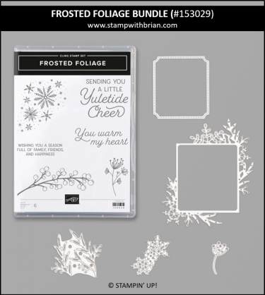 Frosted Foliage Bundle, Stampin' Up! 153029