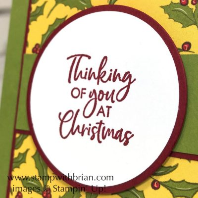 Itty Bitty Christmas, Night Before Christmas Designer Series Paper, Stampin' Up!, Brian King