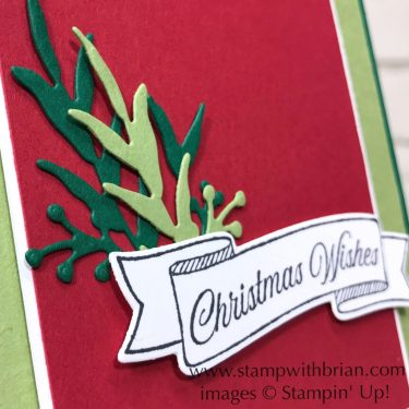Toile Christmas Bundle, Frosted Frames Dies, Stampin' Up!, Brian King, Christmas Card